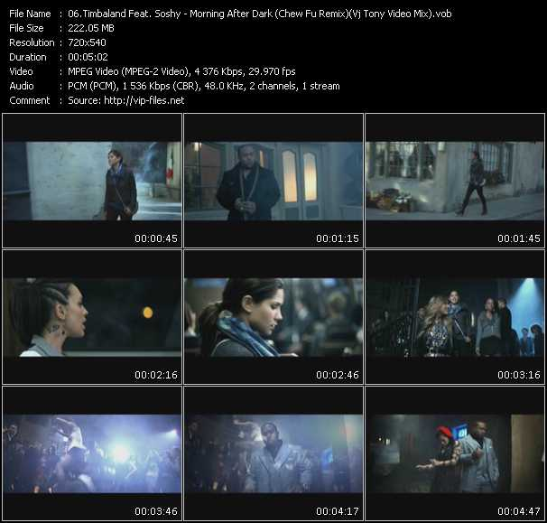 Timbaland Feat. SoShy video screenshot