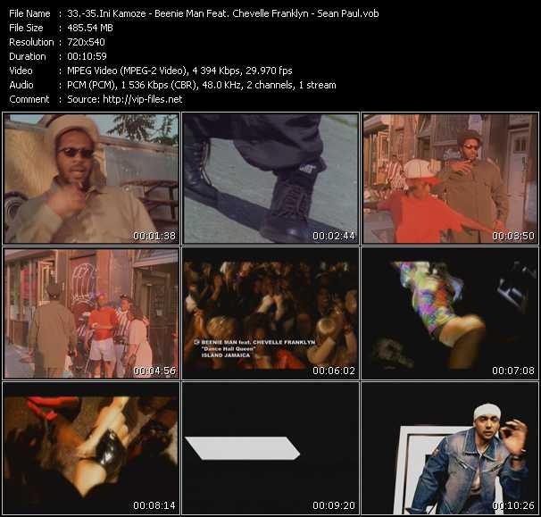 Ini Kamoze - Beenie Man Feat. Chevelle Franklyn - Sean Paul video screenshot