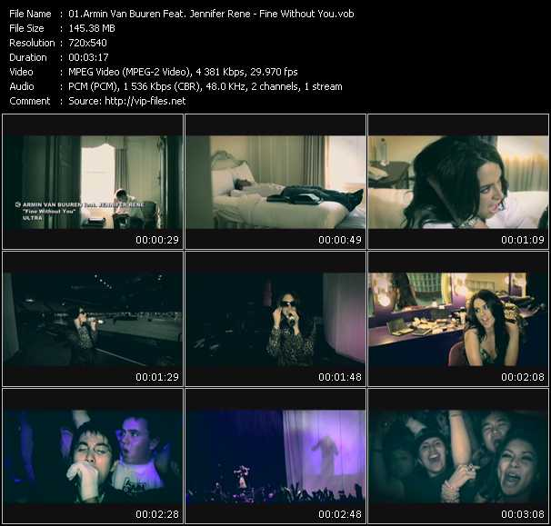 Armin Van Buuren Feat. Jennifer Rene video screenshot
