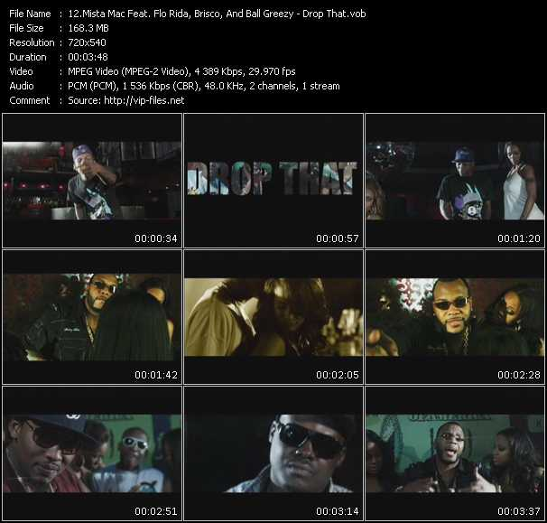 Mista Mac Feat. Flo Rida, Brisco, And Ball Greezy video screenshot