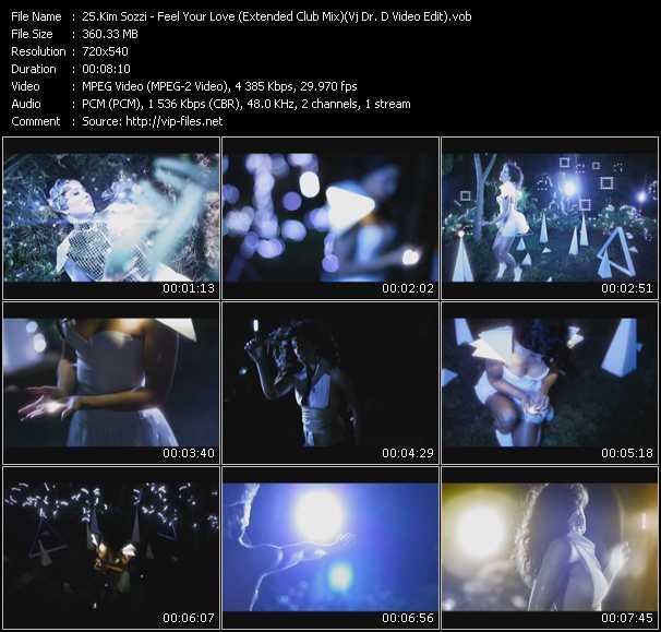 Kim Sozzi video screenshot