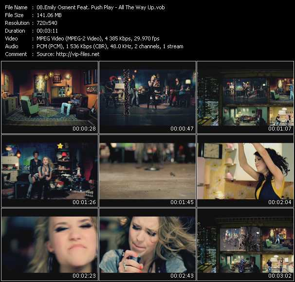 Emily Osment Feat. Push Play video screenshot