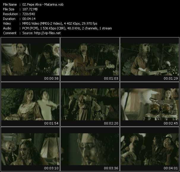 Pepe Alva video screenshot