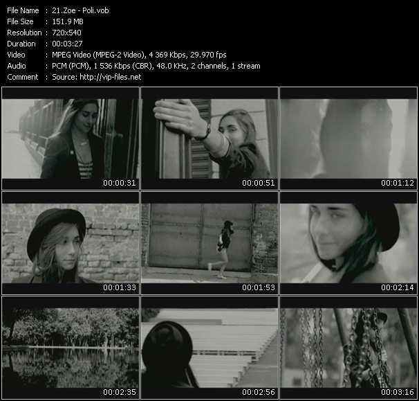 Zoe video screenshot