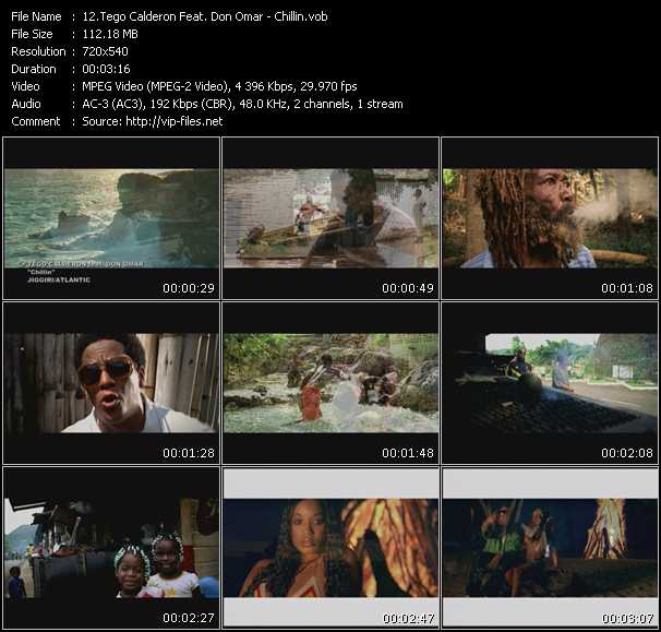 Tego Calderon Feat. Don Omar video screenshot