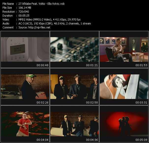 N'klabe Feat. Voltio video screenshot