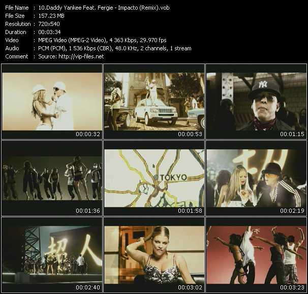 video Impacto (Remix) screen