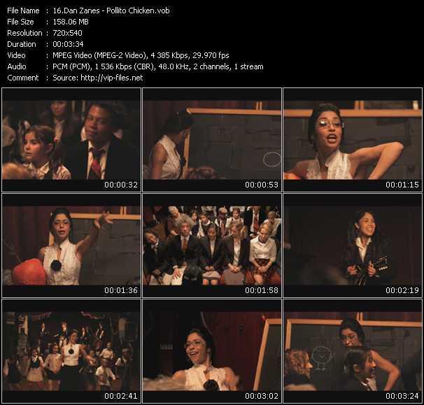 Dan Zanes video screenshot