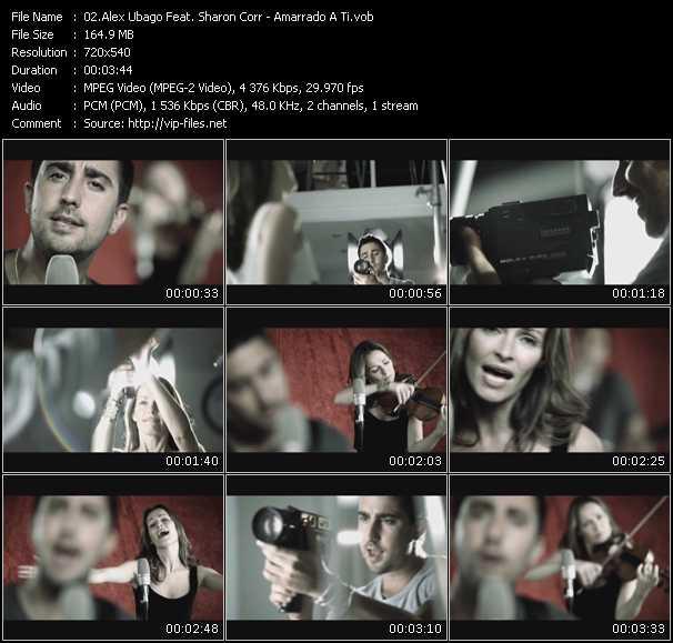 Alex Ubago Feat. Sharon Corr video screenshot