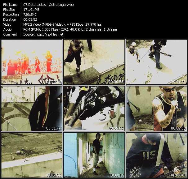 Detonautas video screenshot