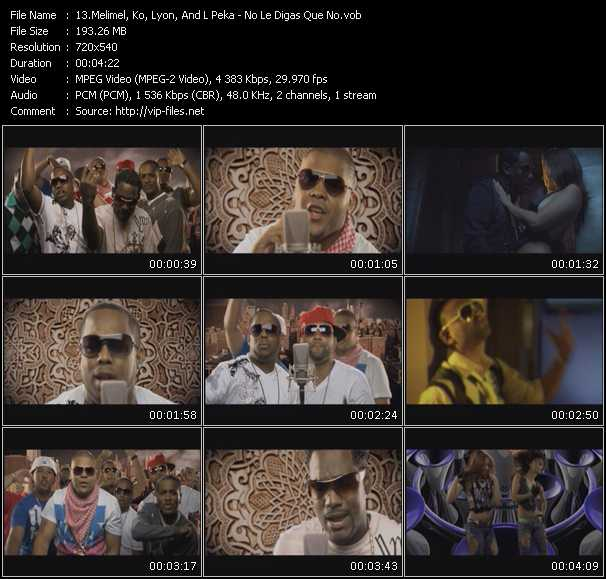 KO Feat. Meli-Mel, Lpeka And Lyon video screenshot