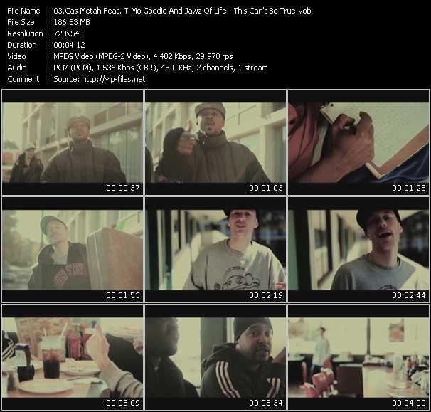 Cas Metah Feat. T-Mo Goodie And Jawz Of Life video screenshot