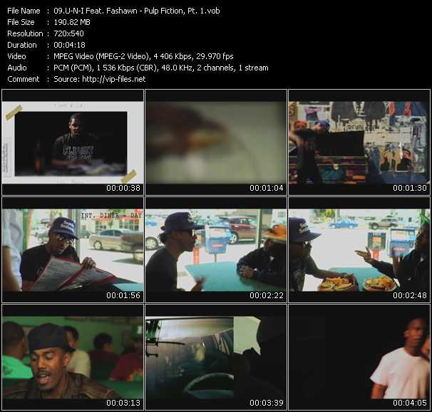 U-N-I Feat. Fashawn video screenshot