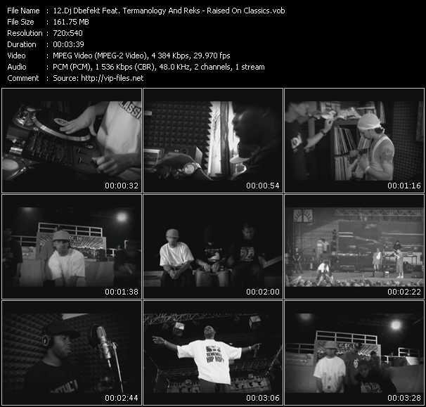 Dj Dbefekt Feat. Termanology And Reks video screenshot