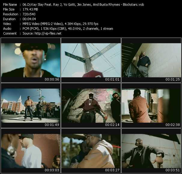 Dj Kay Slay (Dj Kayslay) Feat. Ray J, Yo Gotti, Jim Jones, And Busta Rhymes video screenshot
