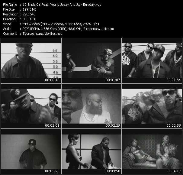 Triple C's Feat. Young Jeezy And J.W. video screenshot