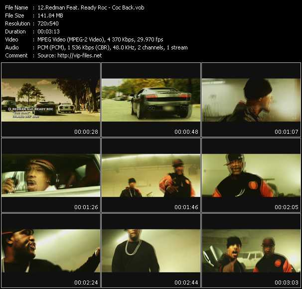 Redman Feat. Ready Roc video screenshot