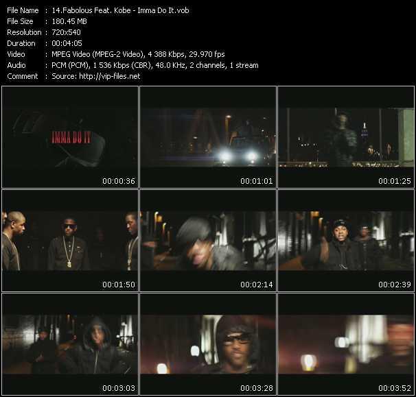 Fabolous Feat. Kobe video screenshot