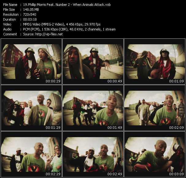 Phillip Morris Feat. Number 2 video screenshot