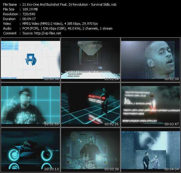Krs-One And Buckshot Feat. Dj Revolution video screenshot