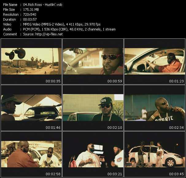 video Hustlin' screen