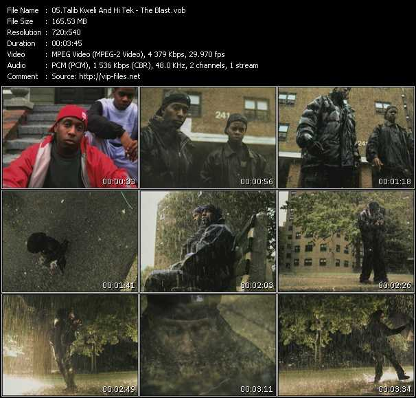 Talib Kweli And Hi-Tek video screenshot