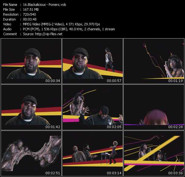 Blackalicious video screenshot