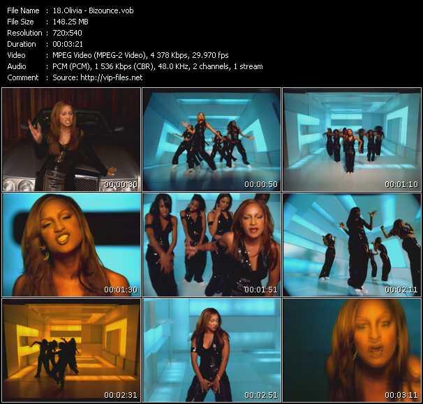 video Bizounce screen