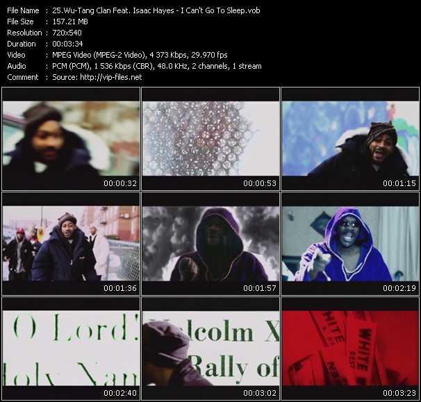 Wu-Tang Clan Feat. Isaac Hayes video screenshot