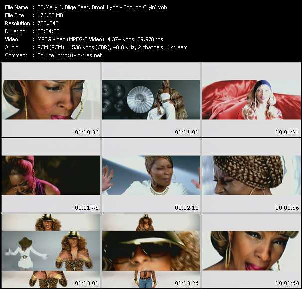 Mary J. Blige Feat. Brook Lynn video screenshot
