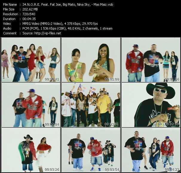 N.O.R.E. Feat. Fat Joe, Big Mato, Nina Sky video screenshot