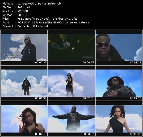 Page Feat. Drake video screenshot