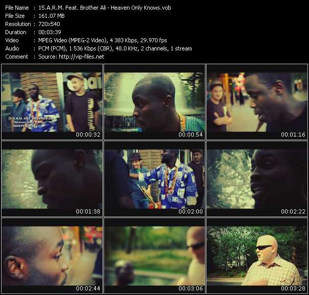 A.R.M. Feat. Brother Ali video screenshot