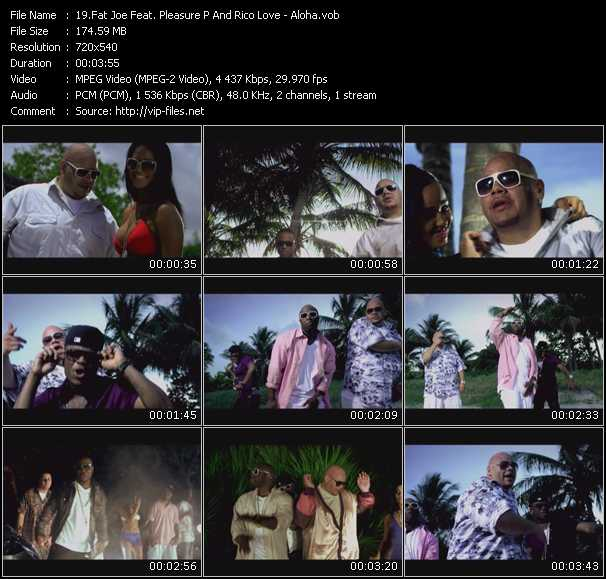 Fat Joe Feat. Pleasure P And Rico Love video screenshot