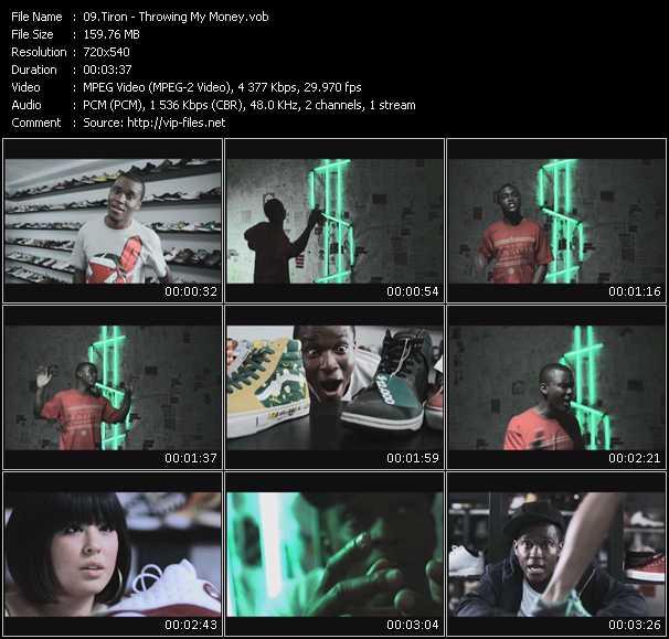 Tiron video screenshot