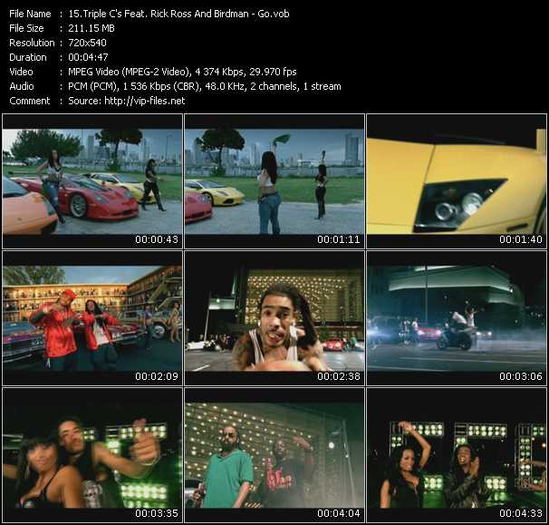 Triple C's Feat. Rick Ross And Birdman video screenshot