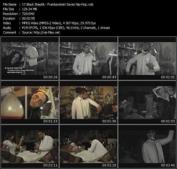 Black Skeptik video screenshot