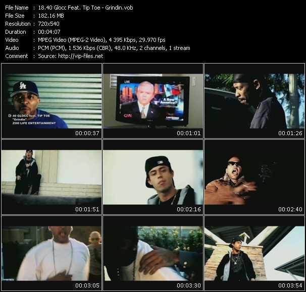40 Glocc Feat. Tip Toe video screenshot