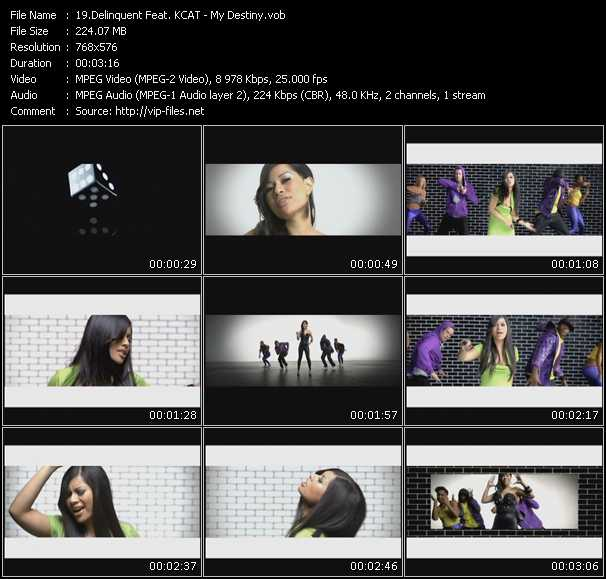 Delinquent Feat. KCAT video screenshot