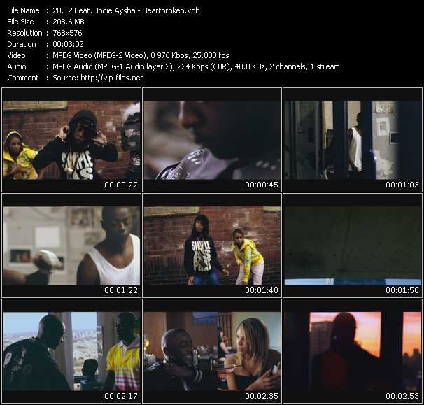 T2 Feat. Jodie Aysha video screenshot