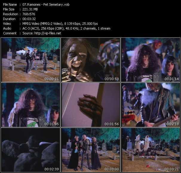 Ramones video screenshot