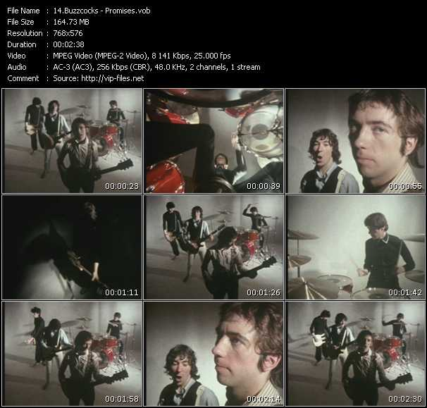Buzzcocks video screenshot