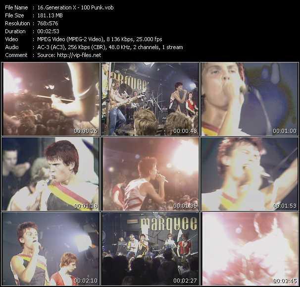 Generation X video screenshot