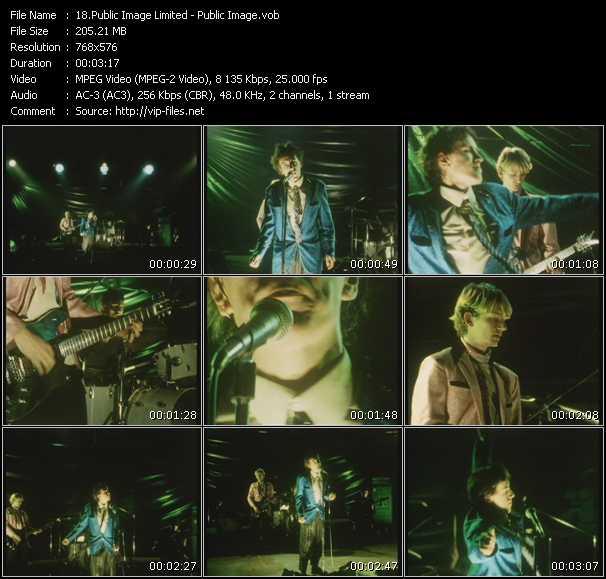Public Image Ltd (PIL) video screenshot
