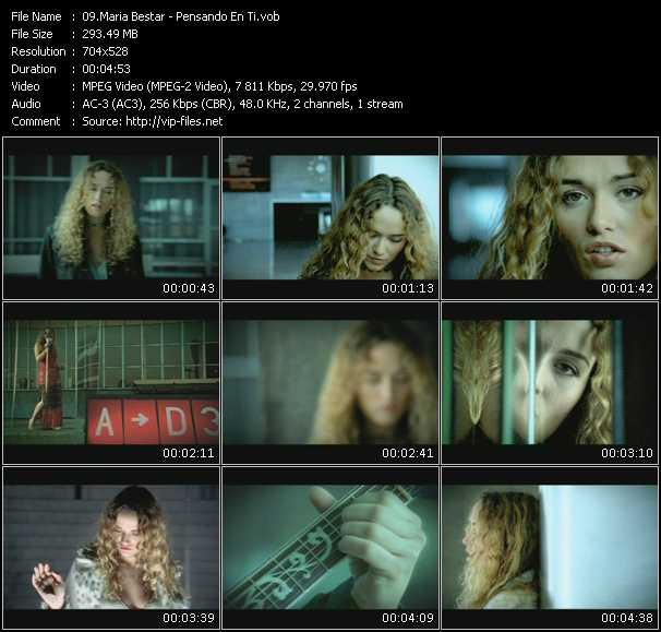 Maria Bestar video screenshot