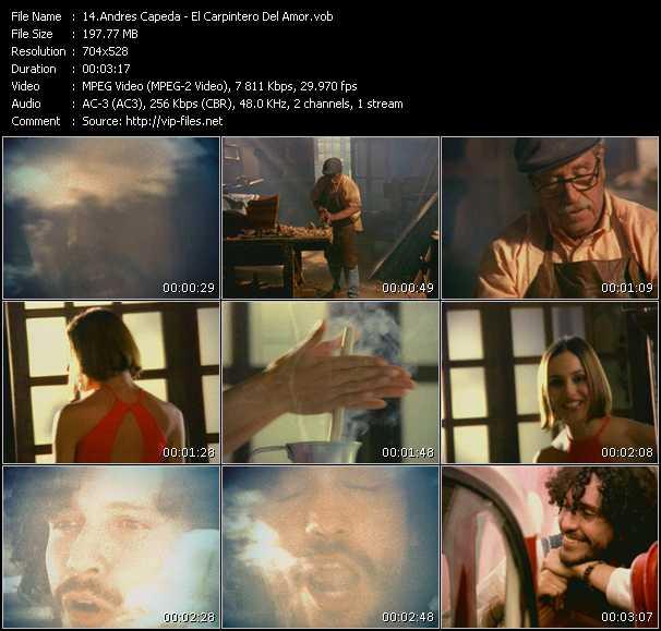 Andres Capeda video screenshot