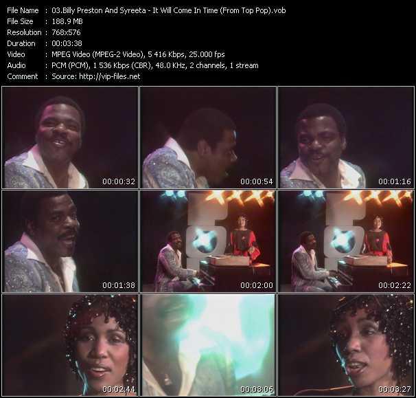 Billy Preston And Syreeta video screenshot