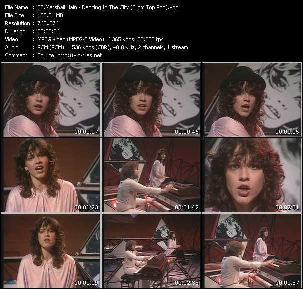 Matshall Hain video screenshot