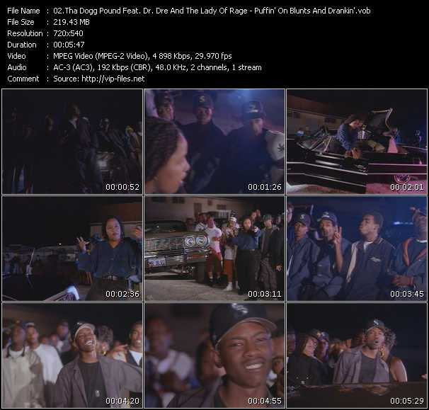 Tha Dogg Pound Feat. Dr. Dre And The Lady Of Rage video screenshot