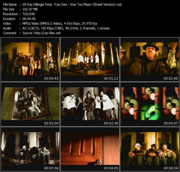 Daz Dillinger Feat. Tray Dee video screenshot